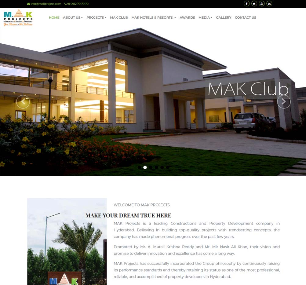 mak projects